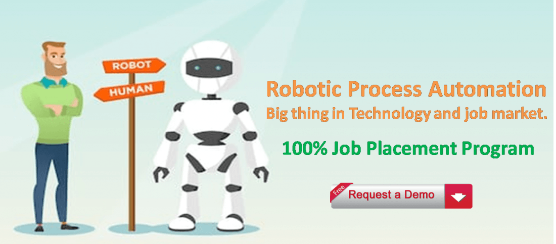 Robotic Process Automation Training for Fresher and Experienced with Job Placement