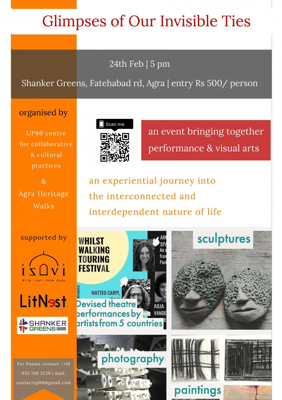 Glimpses Of Our Invisible Ties - Art & Theatre Show