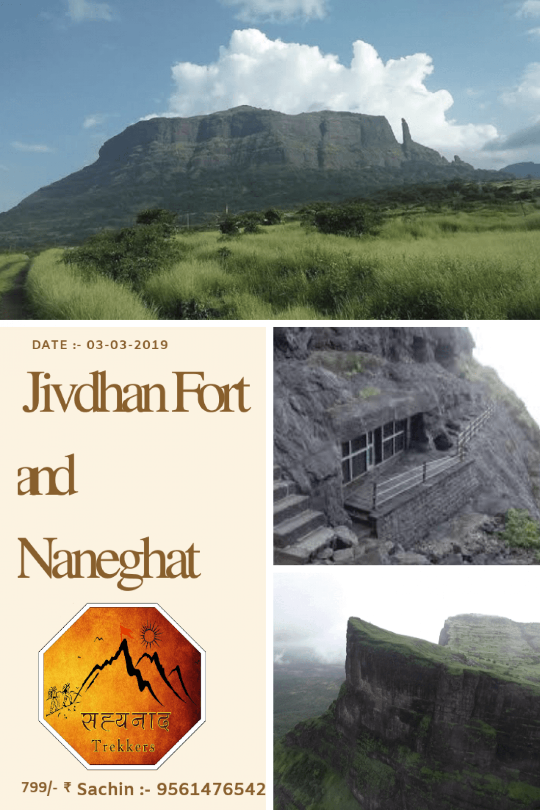 One Day Trek to Jivdhan Fort & Naneghat