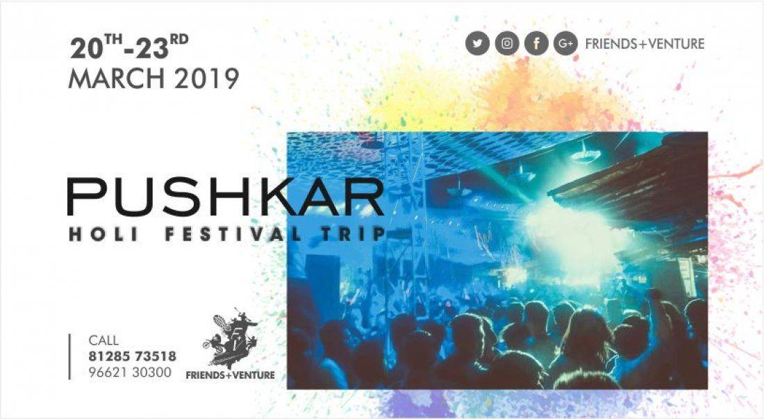 Pushkar Holi Festival 2019