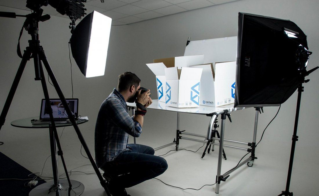 Product photography summer course