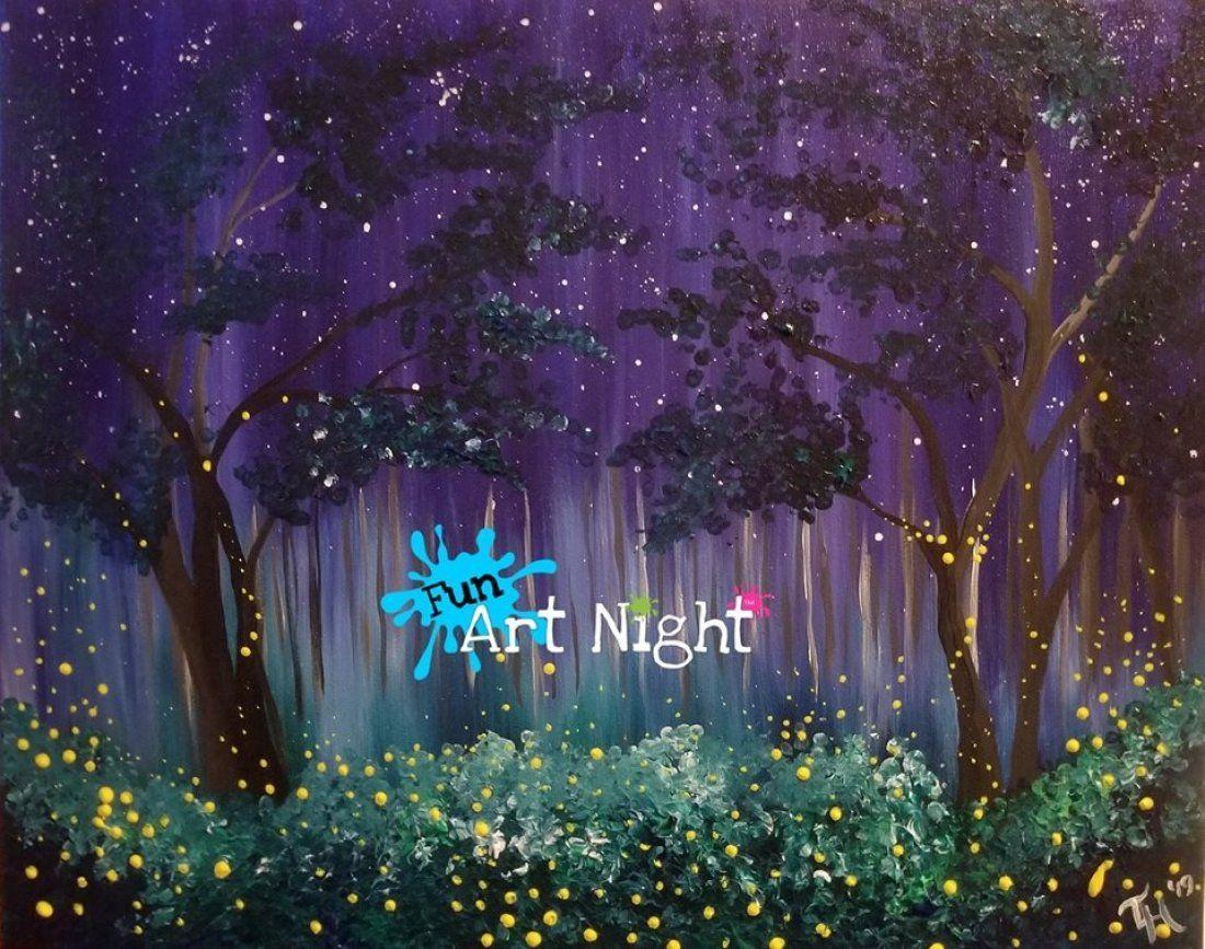 Fun Art Night Twilight Twinkle in Waynesboro