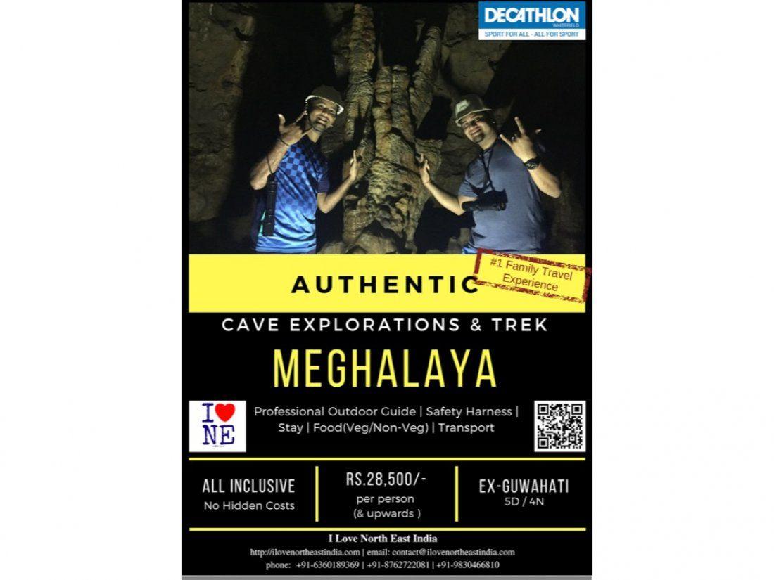 Authentic Meghalaya Cave Explorations & Trek
