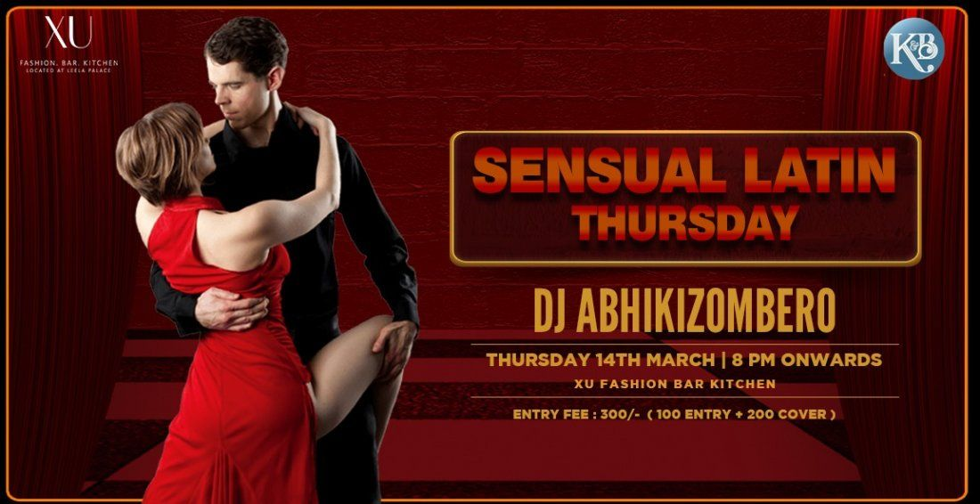 Sensual Latin Thursday Night at XU