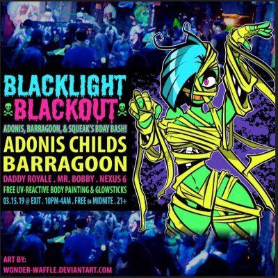 Blacklight Blackout ft. Adonis Childs &amp Barragoon