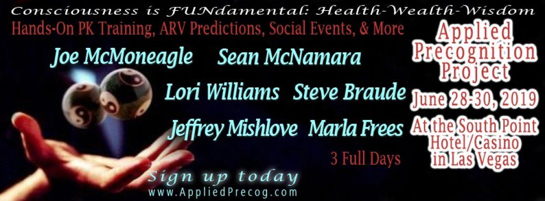 Remote Viewing and Telekinesis Conference (beginners welcome)