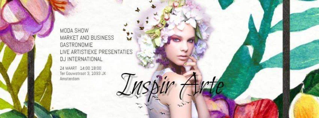 InspirArte Fashion Show  Amsterdam 2019