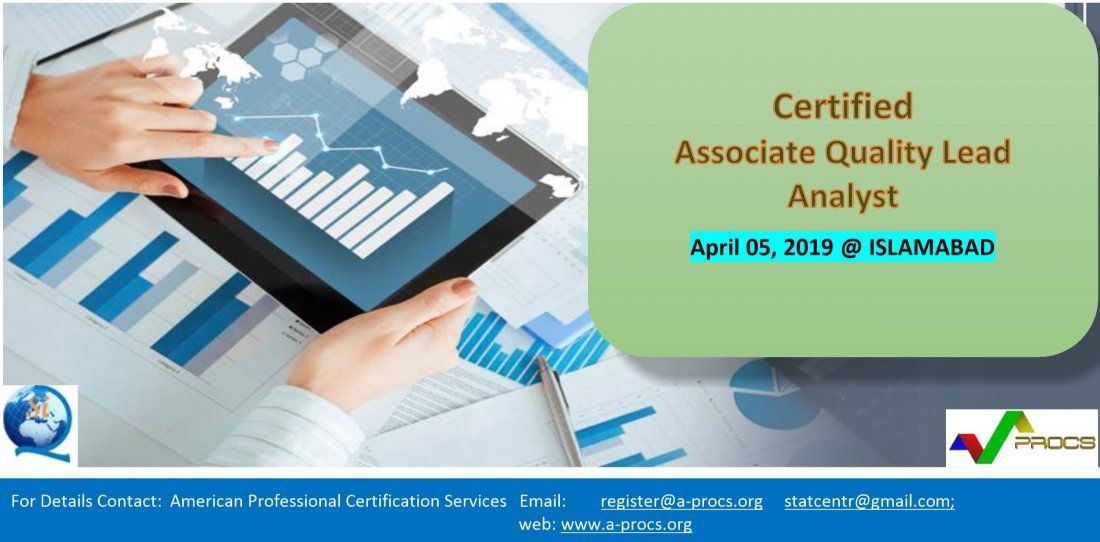 Certified Associate Quality Lead Analyst