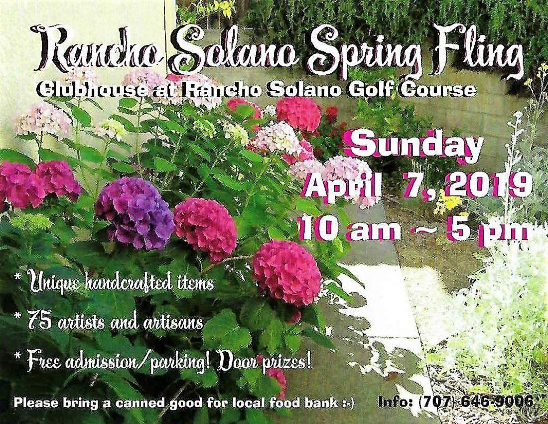 Rancho Solano Spring Fling Boutique (7th annual  75 artisans)