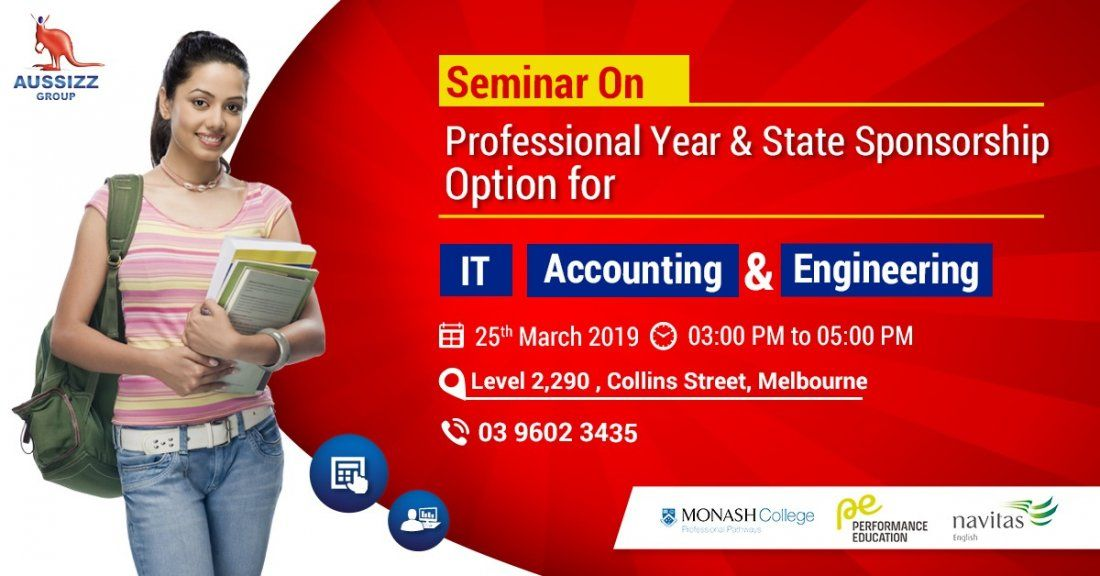 Seminar on Professional Year and State Sponsorship for Accounting IT and Engineering