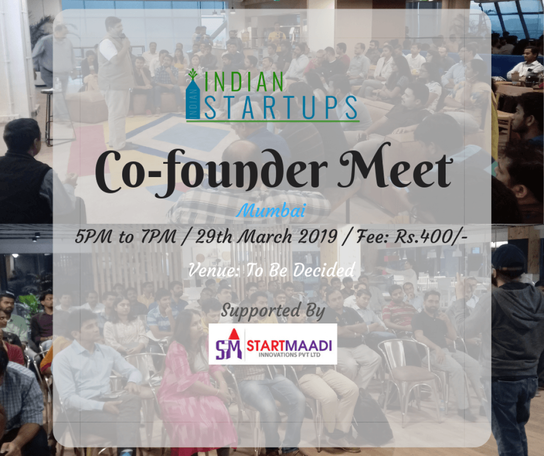 Co-Founder Meet - March 2019 Edition at Mumbai