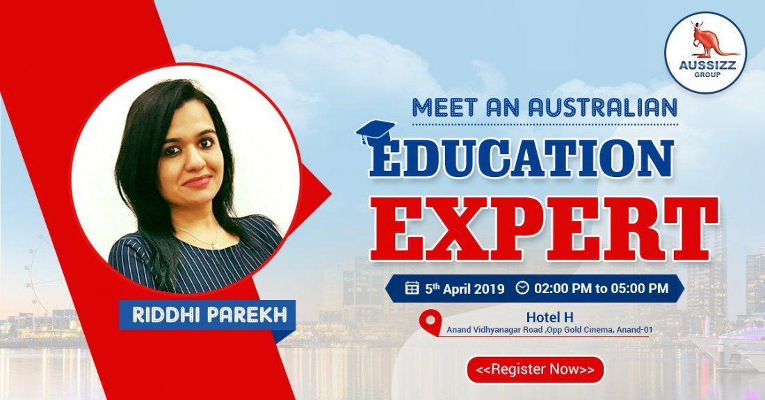 FREE Meet the Australian Education Expert in Anand