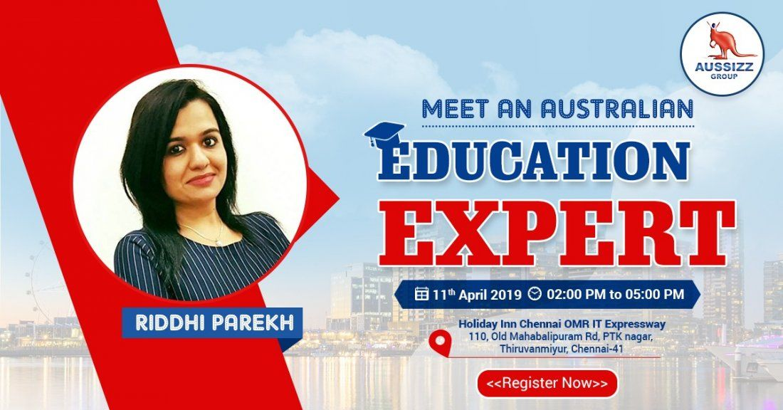 FREE Meet the Australian Education Expert in Chennai
