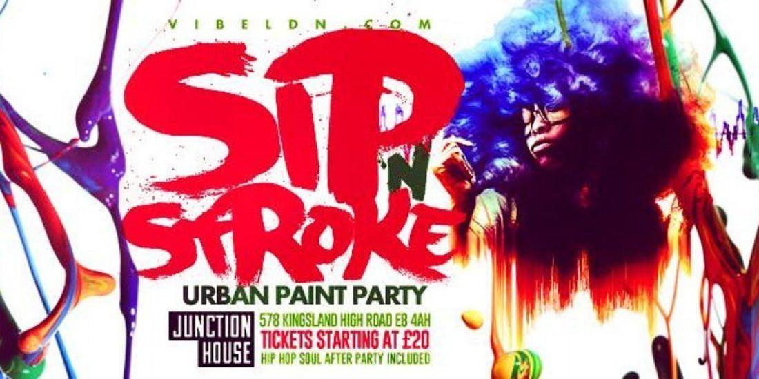 SIP N STROKE (Urban Paint Party)