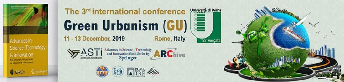 The 3rd international conference on sustainability Green Urbanism (GU)