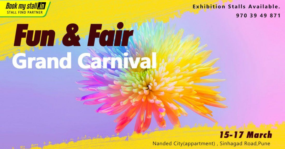 Fun & Fair grand Carnival Womens day Special at Pune - BookMyStall