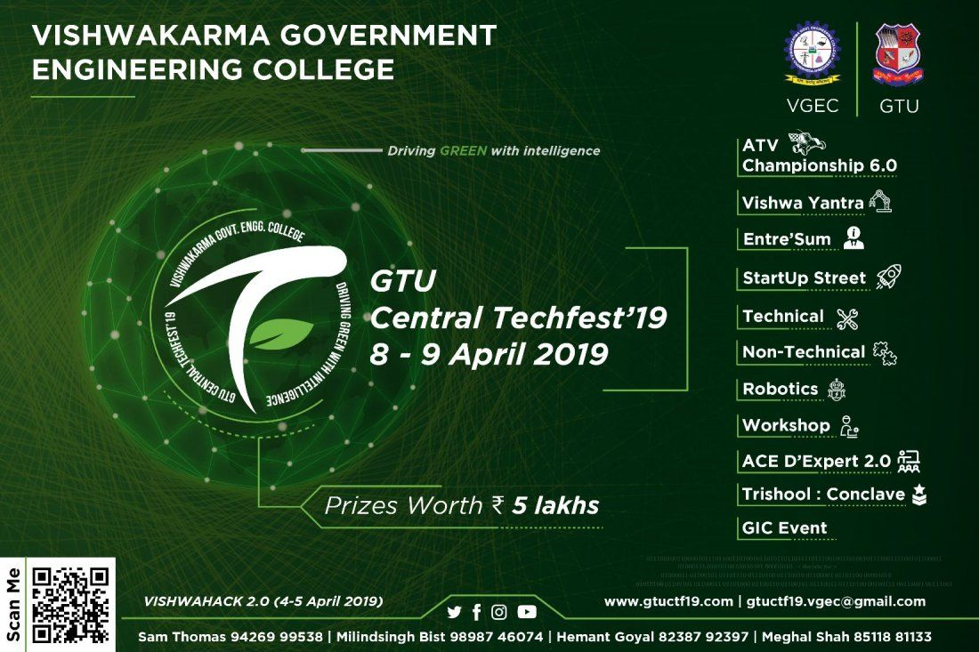 GTU Central Techfest19