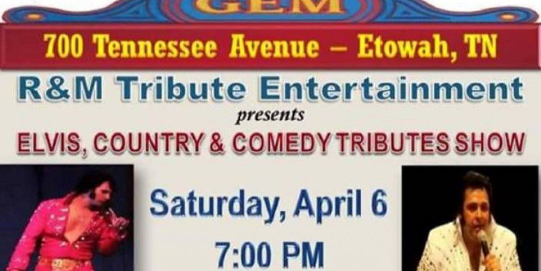 Elvis Country & Comedy Tributes Show