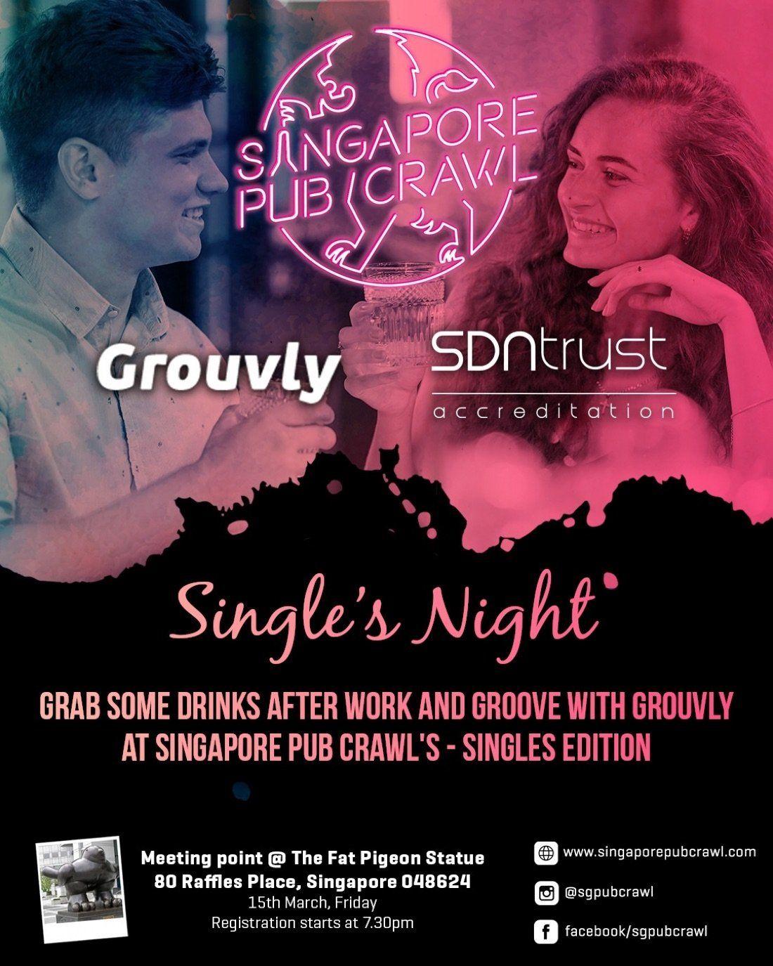 Singapore Pub Crawl  Singles Night