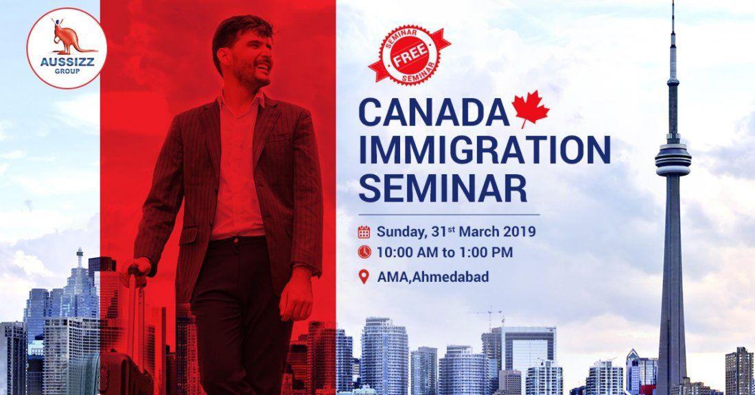 Biggest FREE seminar on Canada Immigration at AMA Ahmedabad