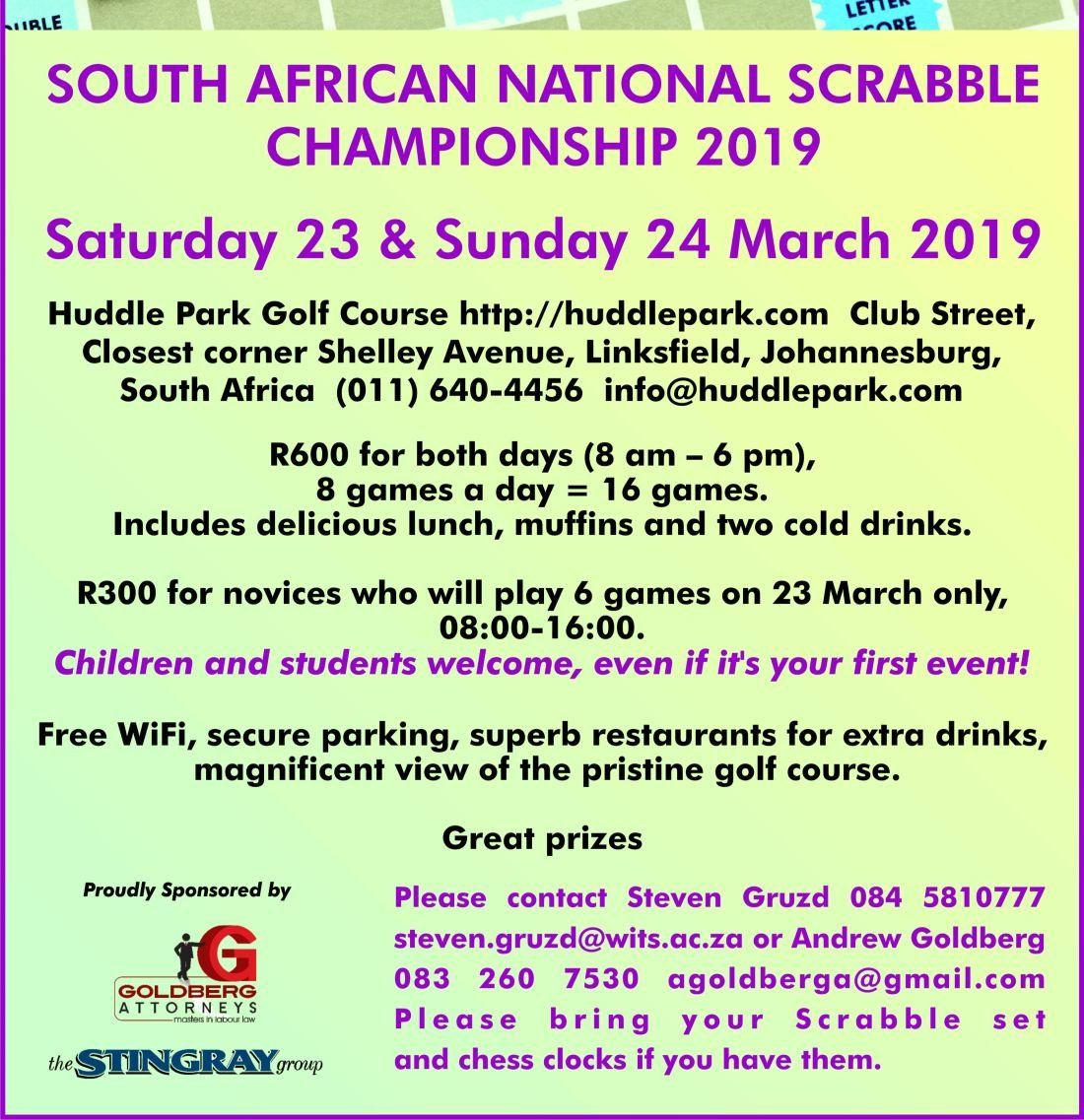 National Scrabble Championships