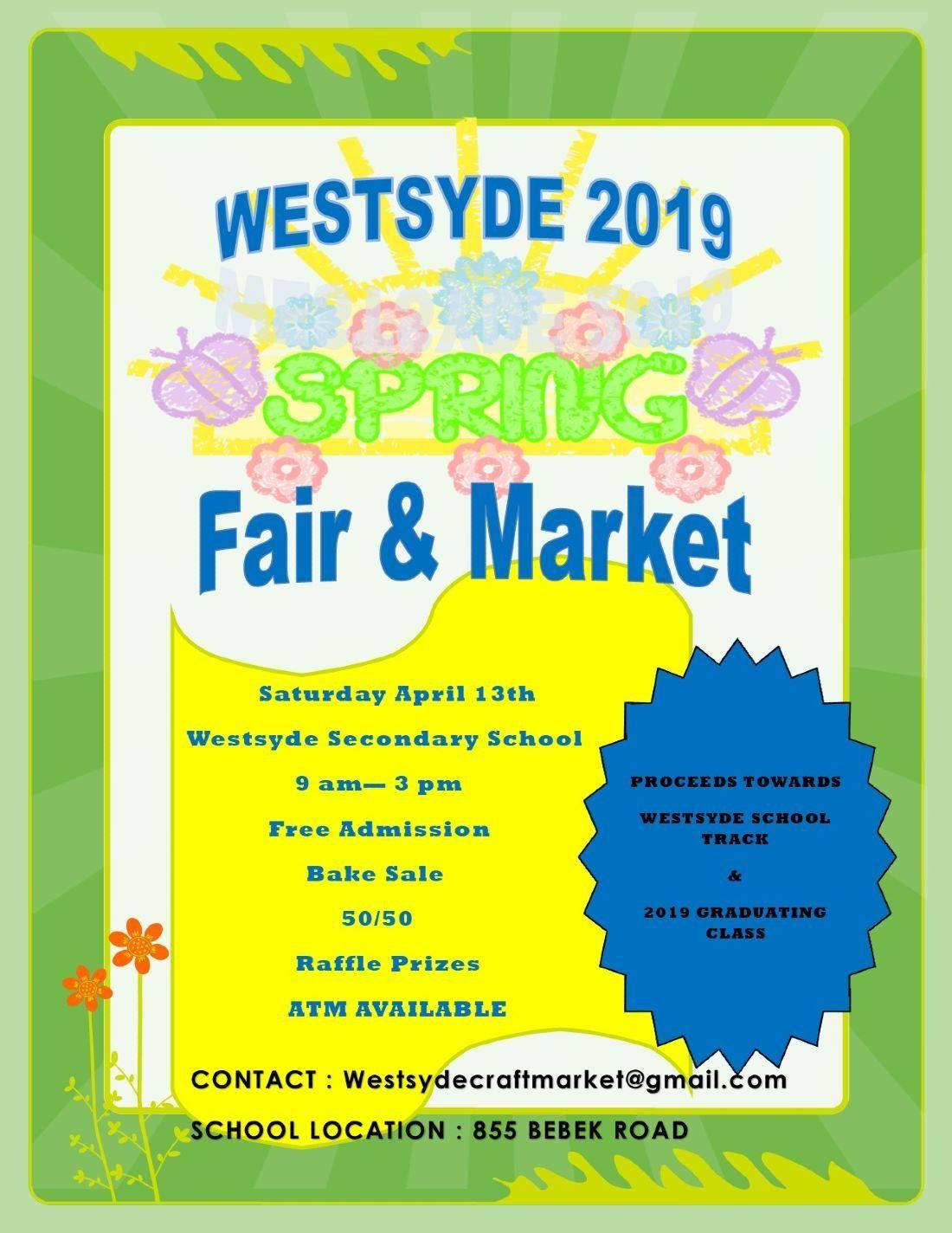 Westsyde Spring Craft Fair & Market