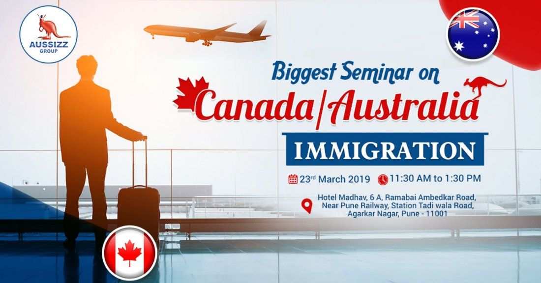 Biggest Free Seminar on CanadaAustralia Immigration in Pune