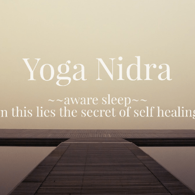 Yoga Nidra - yoga sleep