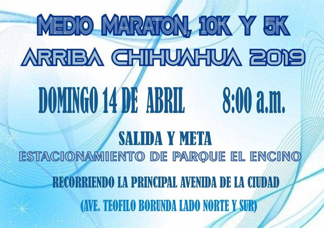 MEDIO MARATN ARRIBA CHIHUAHUA 2019
