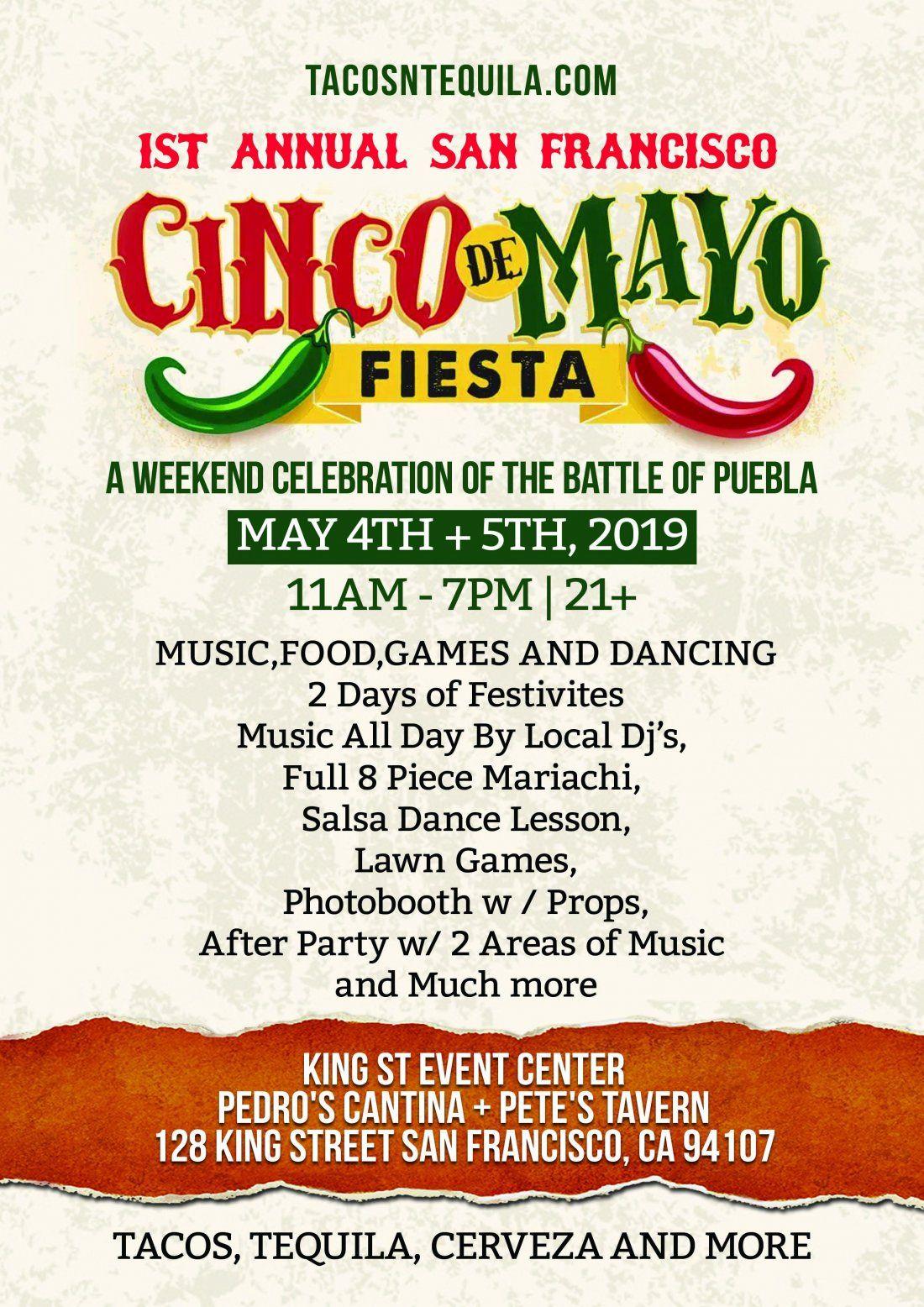 Cinco De Mayo Weekend Fiesta