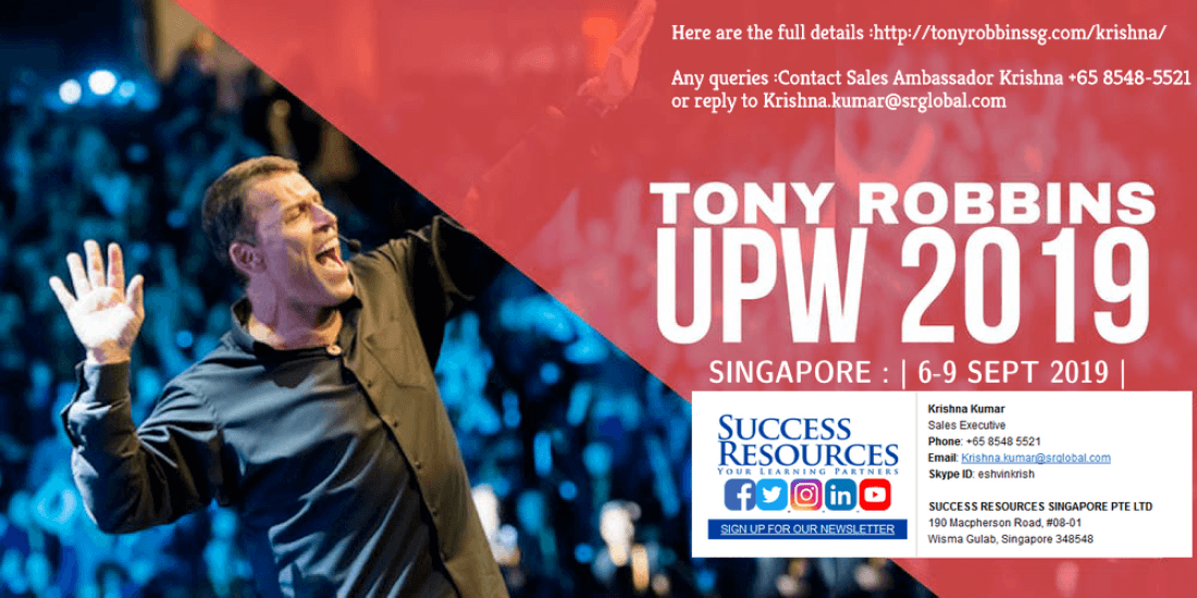 Unleash the Power Within 2019 Live in Singapore