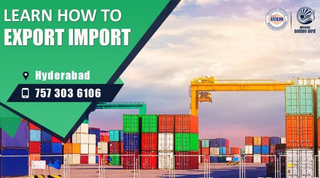 Start and Set up Your Own Import and Export Business - Hyderabad