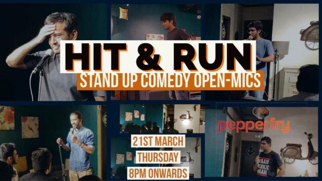 Hit & Run 40.0 - Comedy open mic