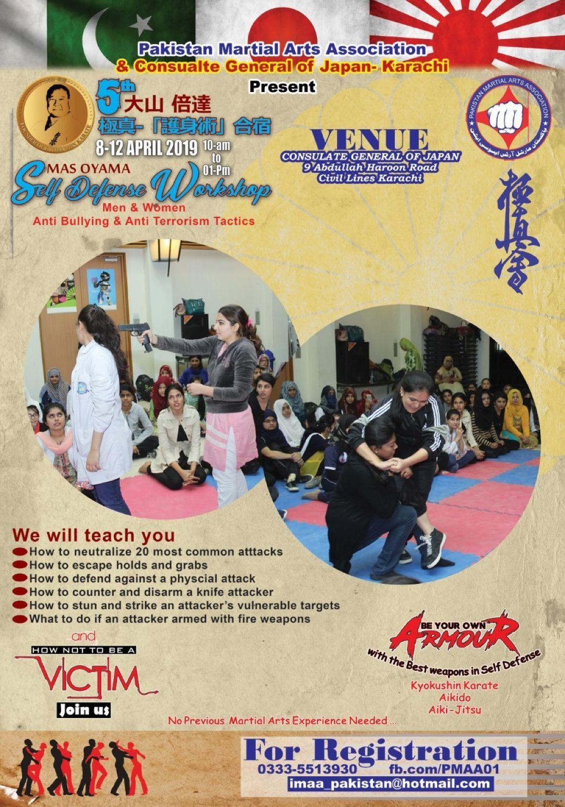 MAS OYAMA Self Defense Workshop2019