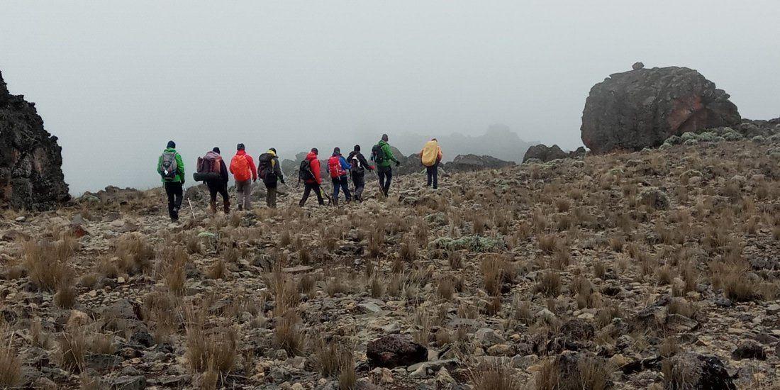 Kilimanjaro Climb 7 Days Machame Route