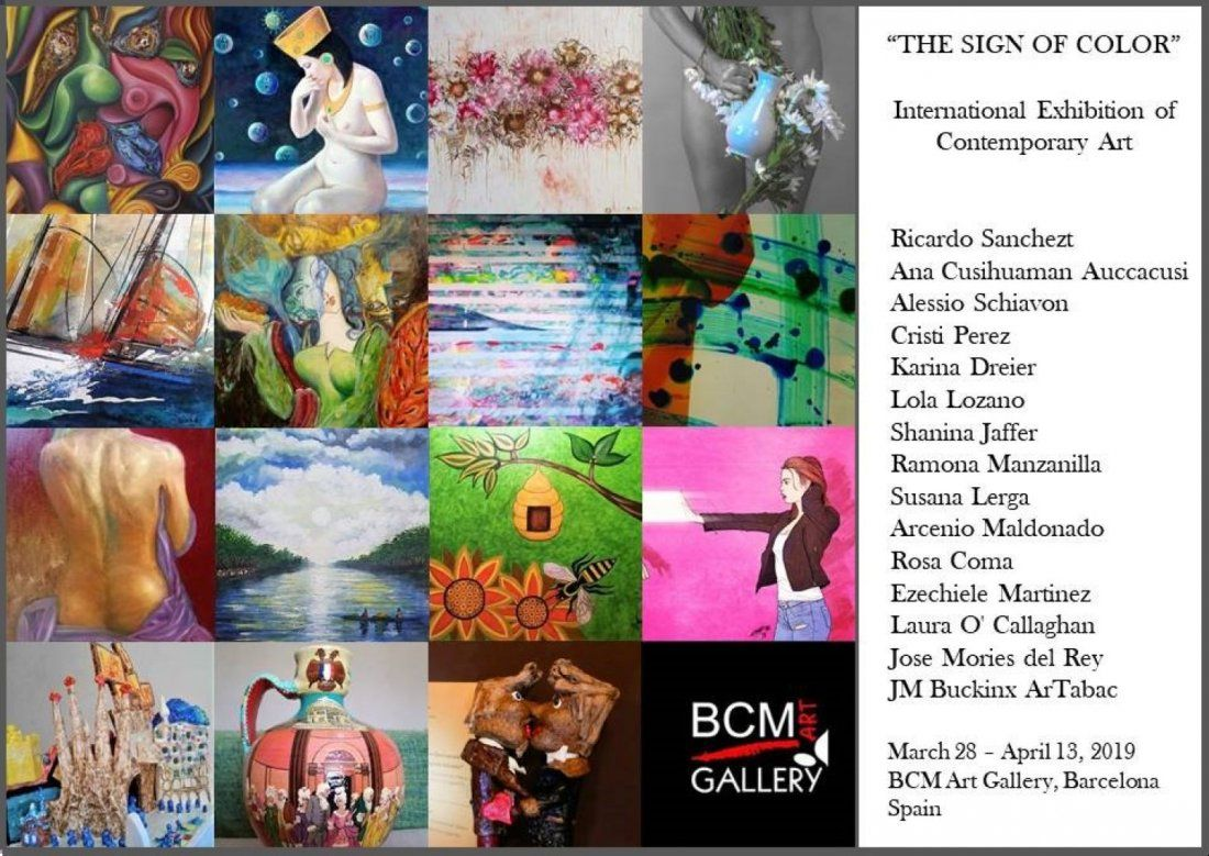 International collective Exhibition The Sign of Color