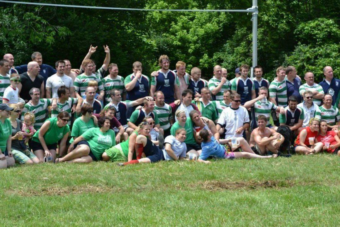 Cincinnati Kelts Rugby Practice