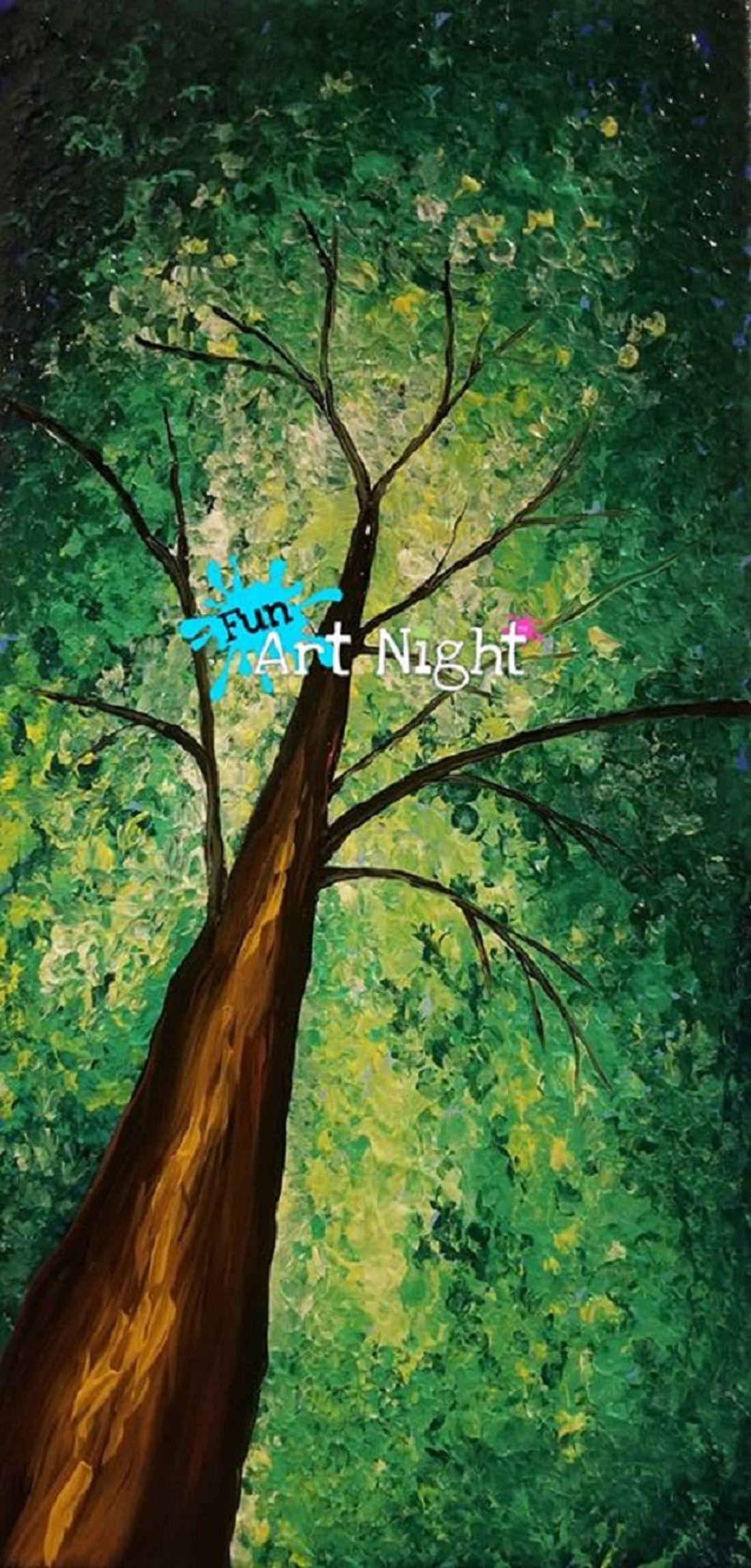 Fun Art Night Mother Earth in Stuarts Draft