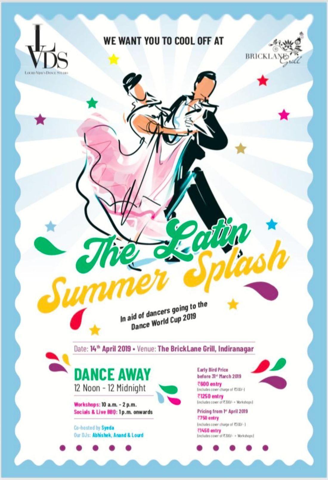 The Latin Summer Splash