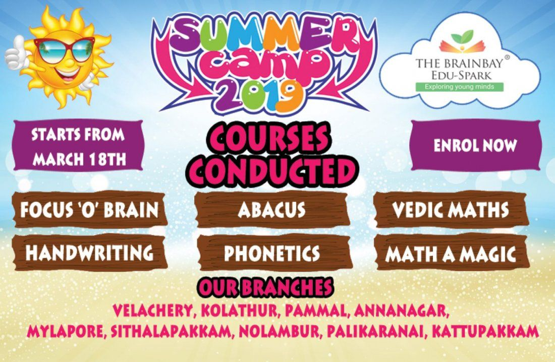 Exciting summer camp for Kids upto 14 years