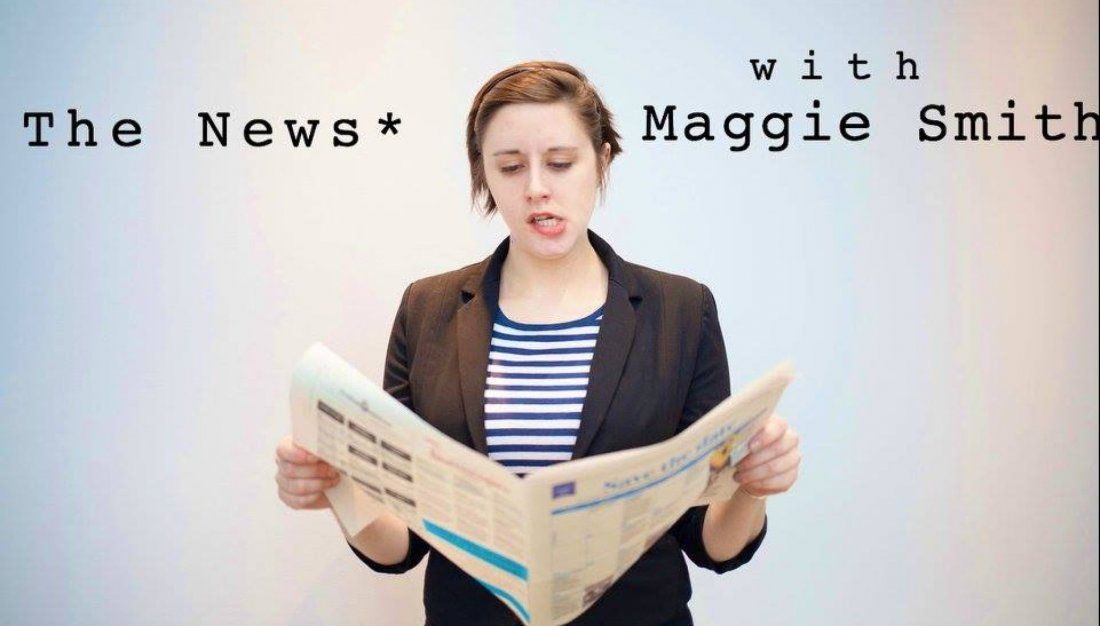 The News with Maggie Smith May Live Taping