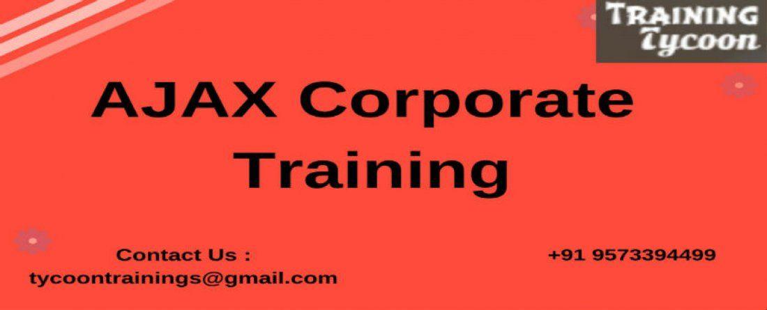 AJAX Corporate Training  AJAX Classroom Training