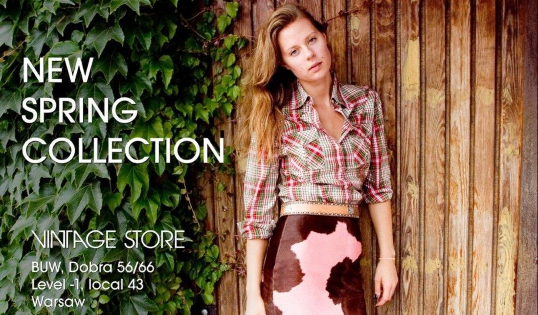 VINTAGE STORE NEW SPRING COLLECTION