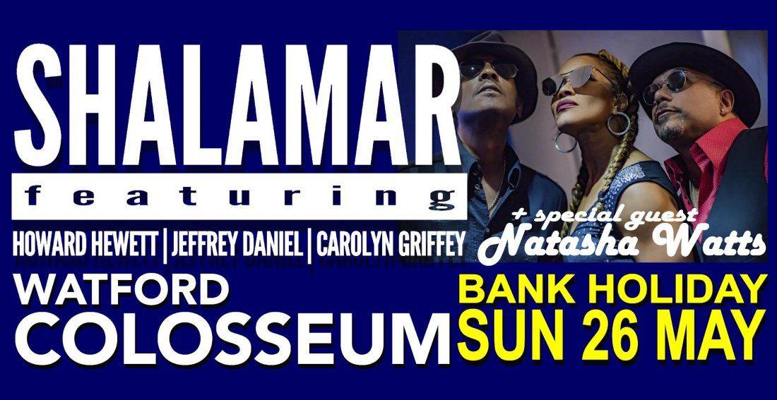Shalamar featuring Howard Hewett Jeffrey Daniel & Carolyn Grifffey