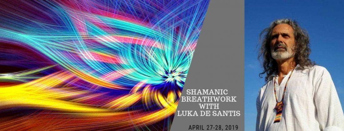 Shamanic Breath Work with Luca De Santis