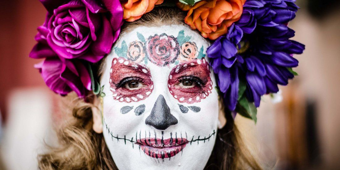 La Calaca Festival Day Of The Dead San Miguel De Allende Mexico