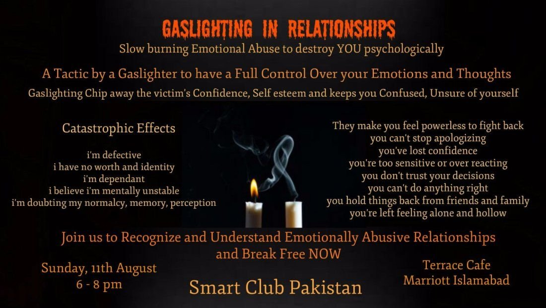 Social Meetup to share Emotional Abusive Relationship Stories