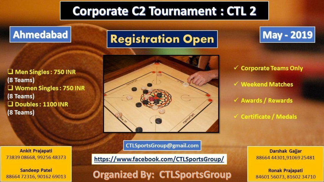 Corporate Carrom Championship  CTL 2