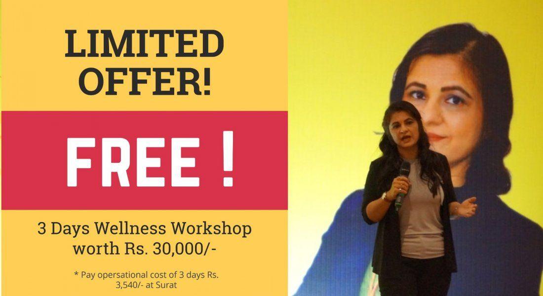 Free 3 Days Inner Workshop - Alternative of Medicines worth Rs. 30000