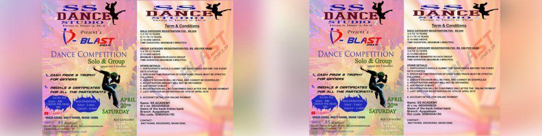 SS ACADEMY SS DANCE STUDIOs D-BLAST 2019